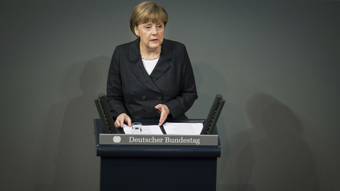 German Chancellor Angela Merkel (AFP Photo / Odd Andersen)