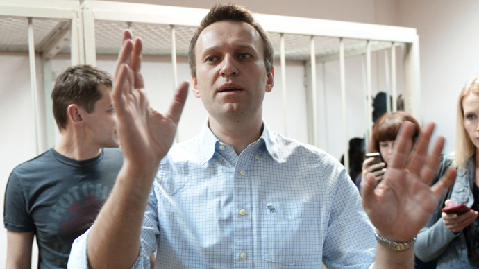Russian opposition figure Navalny questioned over fund's activities, HQ searched