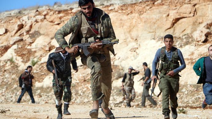 AFP Photo / AMC / Fadi Al-Halabi