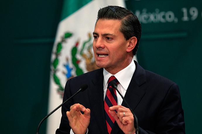 Mexico's President Enrique Pena Nieto (Reuters / Carlos Jasso)