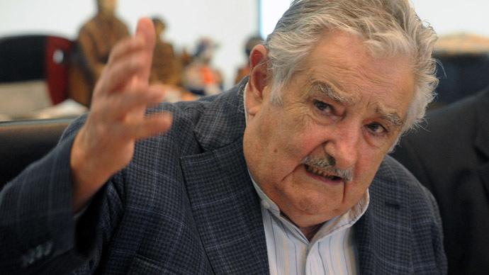 Uruguayan President Jose Mujica (AFP Photo / Miguel Rojo)