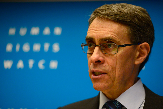 Kenneth Roth, executive director of US-based rights group Human Rights Watch (AFP Photo)