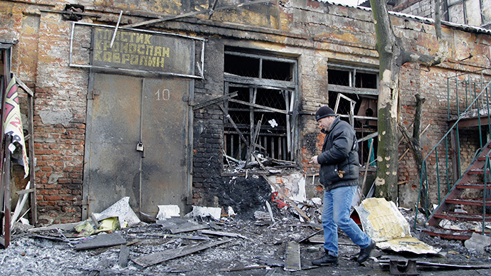 HRW urges Kiev to acknowledge cluster bomb use, stop indiscriminate killings in E. Ukraine