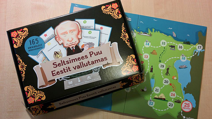 Board game about repelling 'Comrade Pu's Russian invasion' hits Estonia