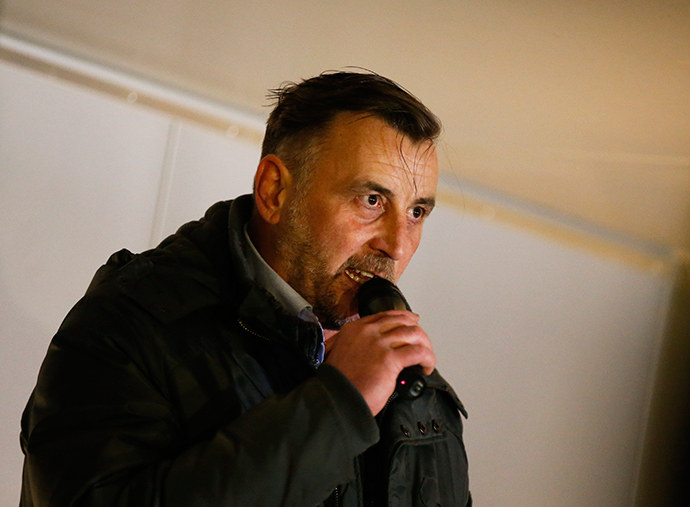 Lutz Bachmann, co-leader of anti-immigration group PEGIDA (Reuters / Fabrizio Bensch)