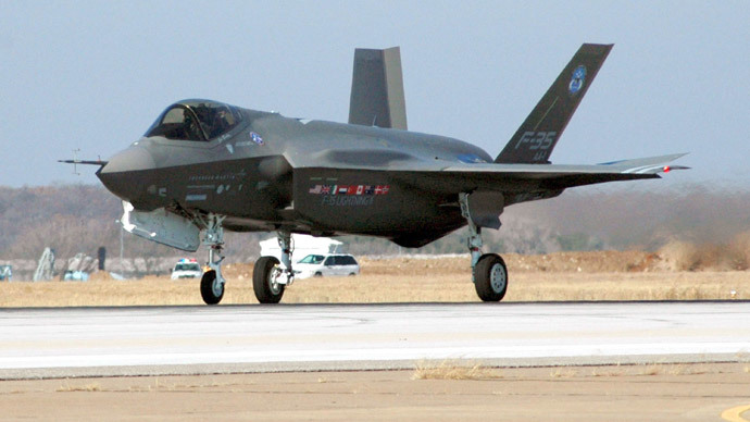 50 terabytes! Snowden leak reveals massive size of F-35 blueprints hack by China