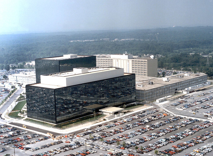 National Security Agency (NSA) at Fort Meade, Maryland. (AFP Photo)