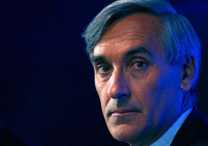 Ex-Tory minister and Eurosceptic, John Redwood. (Reuters / Luke MacGregor)