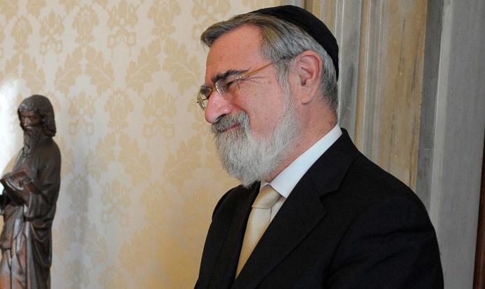 Lord Jonathan Sacks (Reuters / Osservatore Romano)