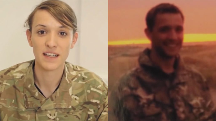 British Army's first transgender officer plea: Don't 'sensationalize' her story