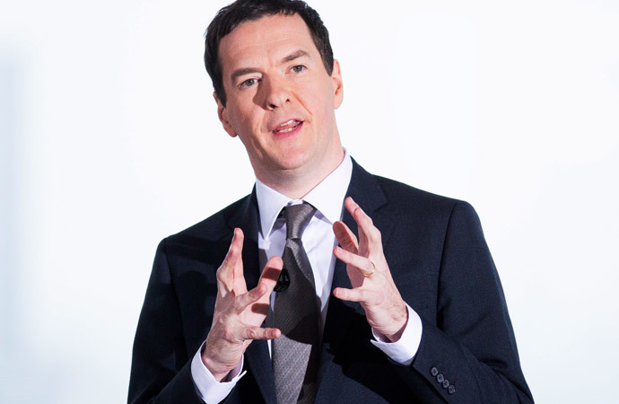 British Chancellor of the Exchequer George Osborne (AFP Photo / Andrew Cowie)
