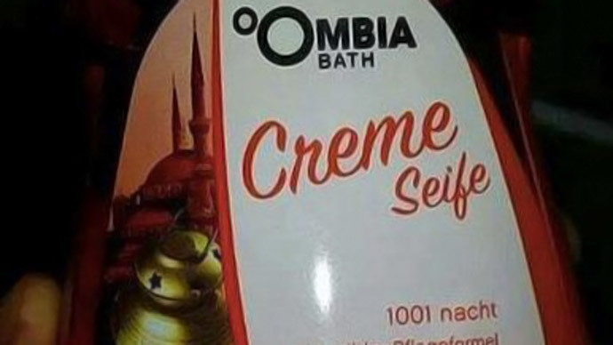 German retailer withdraws soap with mosque on label after Muslim complaint, provokes backlash