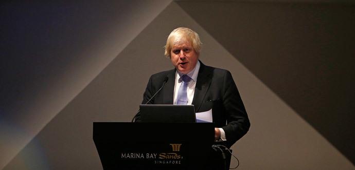 Boris Johnson (Reuters / Edgar Su)