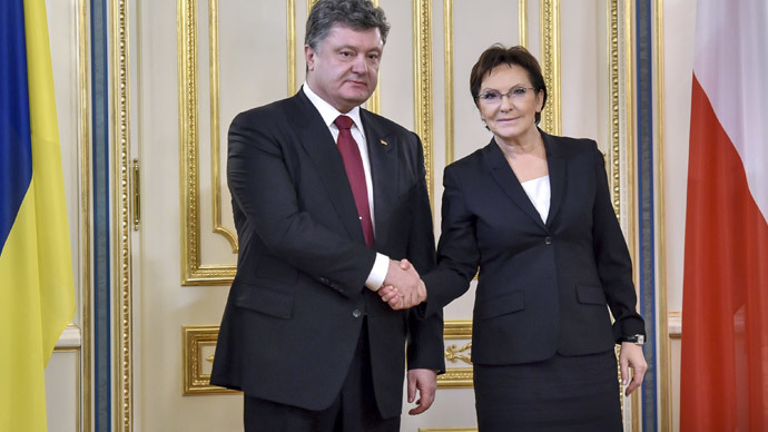 Ukraine president gets Polish invitation to Auschwitz anniversary, unlike Putin