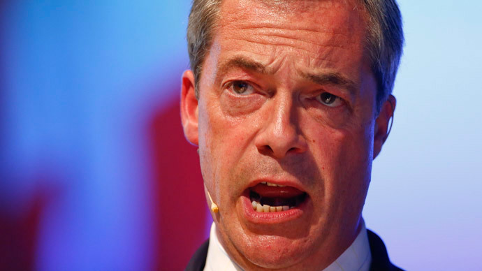 Nigel Farage (Reuters / Arnd Wiegmann)