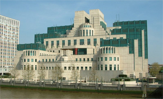 Secret Intelligence Service (MI6) building (image from wikipedia.org)