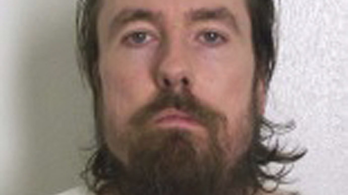 Arkansas inmate Gregory Holt is shown in this undated Arkansas Department of Correction photo. (Reuters)