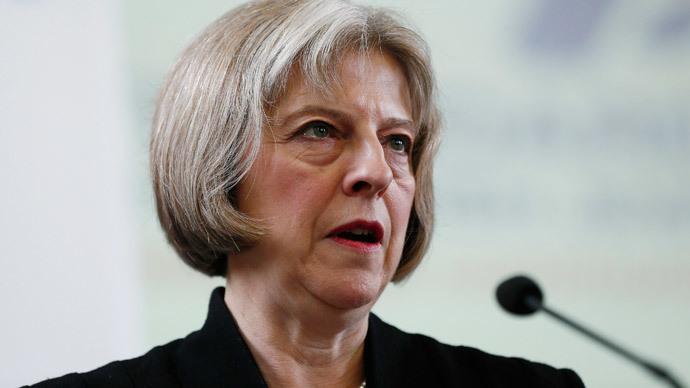 Britain's Home Secretary Theresa May.(Reuters / Stefan Wermuth)