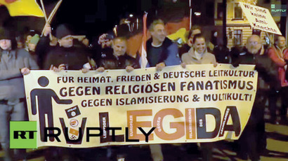 'Anti-Islamization' & 'pro-tolerance' activists march in Berlin (VIDEO)