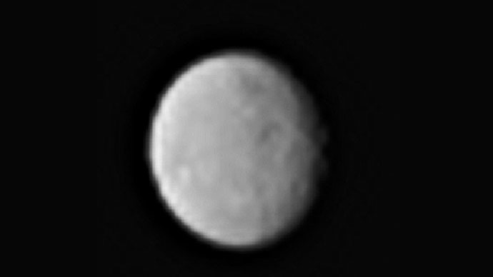 Eyes in the skies: Mysterious bright spots on Ceres dwarf planet look like glowing eyes