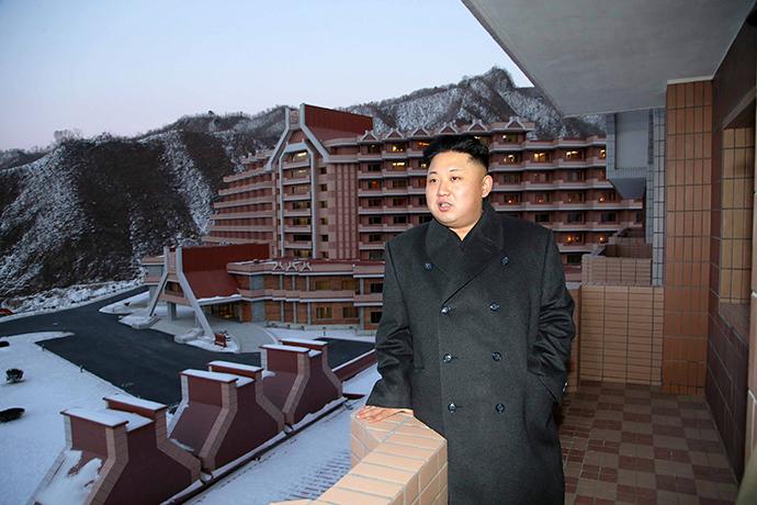 North Korean leader Kim Jong Un (Reuters / KCNA)