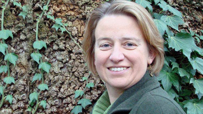 Green Party leader, Natalie Bennett. (image from Facebook)
