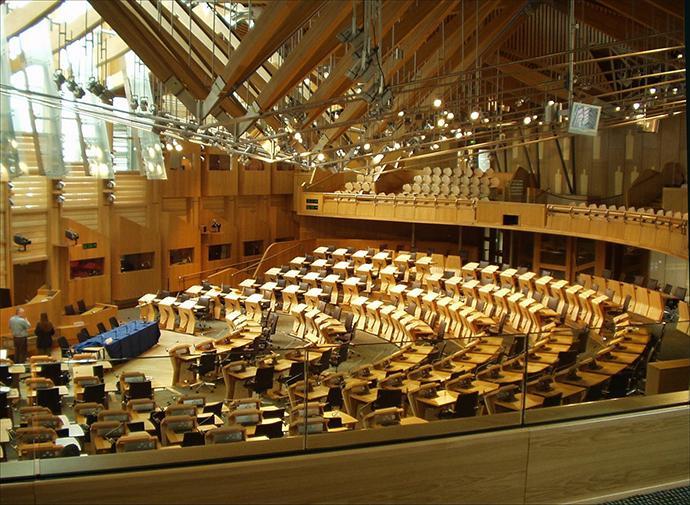 Scottish Parliamen (Image from wikipedia.org)