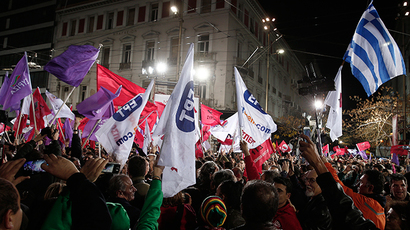 ​Spaniards hold mass rally for leftist Podemos ahead of elections