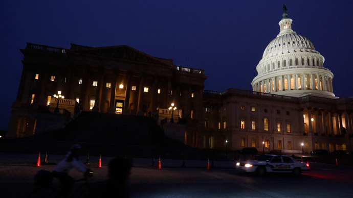 The U.S. Capitol building (Reuters / Gary Cameron)