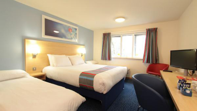 ​'I'm going to rape you': Travelodge hotel TV displays 'horrific' threat
