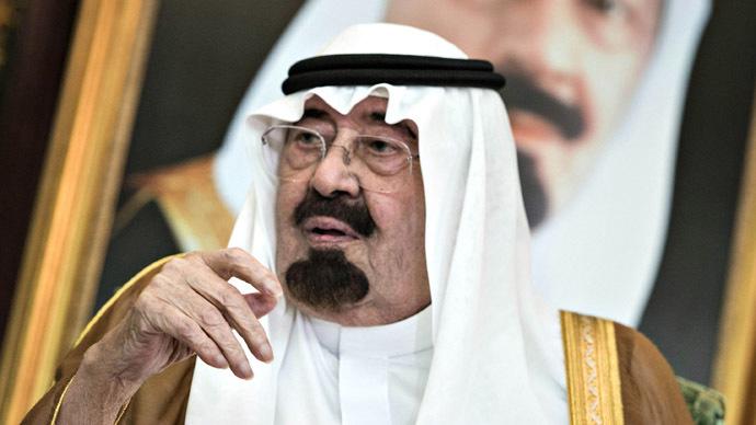 Saudi King Abdullah bin Abdul Aziz al-Saud (Reuters/Brendan Smialowski)