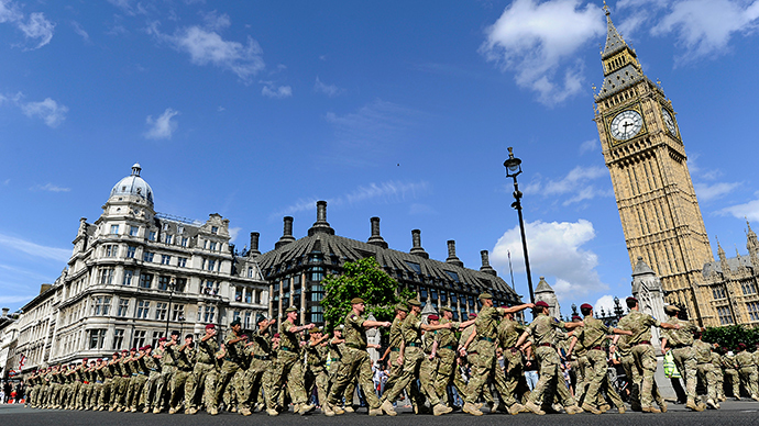 ​Total madness? Green Party to cut British Army, replace with 'home defense force'