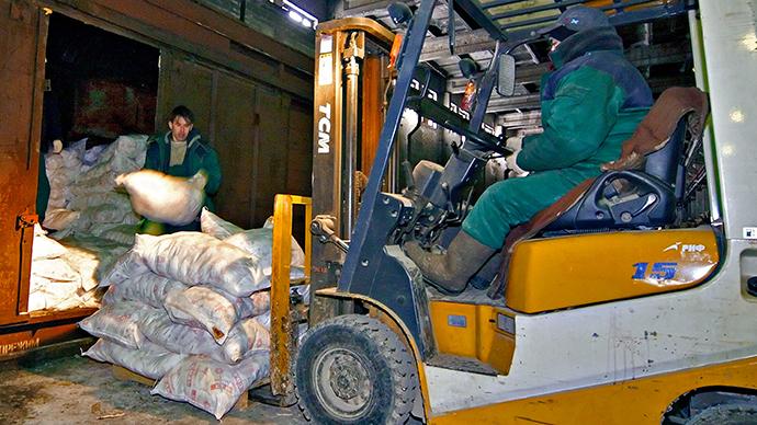Russian consumer watchdog suspends Ukrainian salt imports