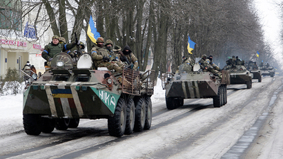 Busted: Kiev MPs try to fool US senator with 'proof' of Russian tanks in Ukraine (PHOTOS)