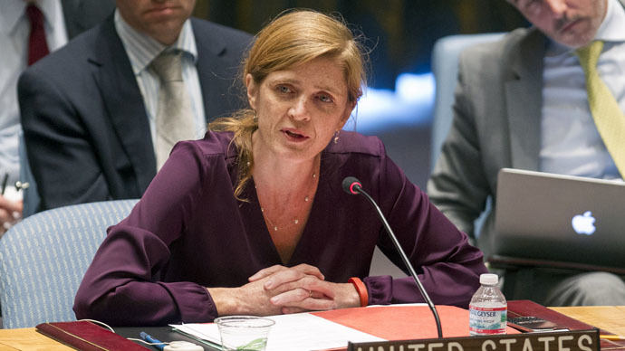 U.S. Ambassador to the U.N. Samantha Power (Reuters/Loey Felipe)