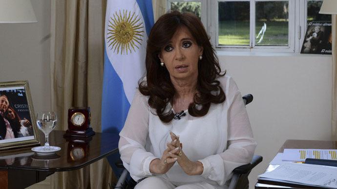 Kirchner calls for Argentine intelligence service overhaul