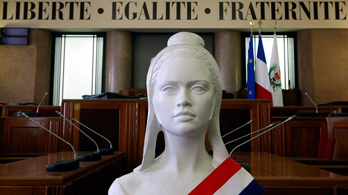 'Not symbol of Republic': French mayor to remove black Marianne statue from city hall