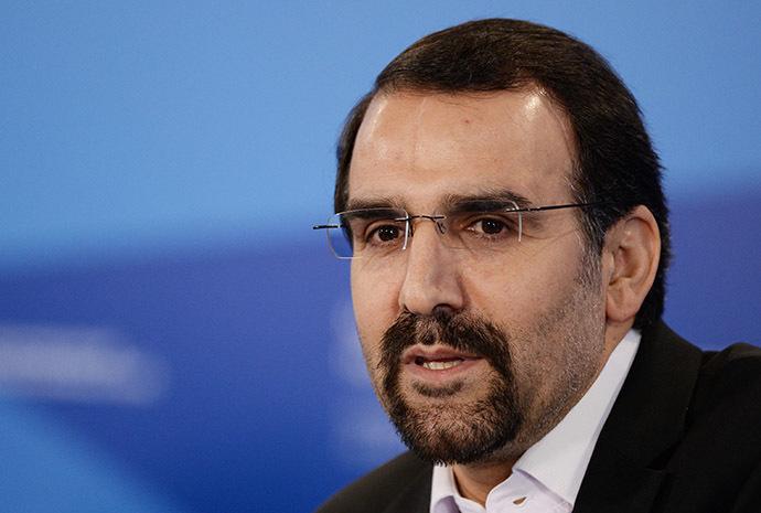 Iran's Ambassador to Russia Mehdi Sanaei. (RIA Novosti/Mikhail Voskresenskiy)