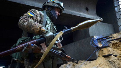 Thousands of Ukrainian troops thought to be trapped in Donbass