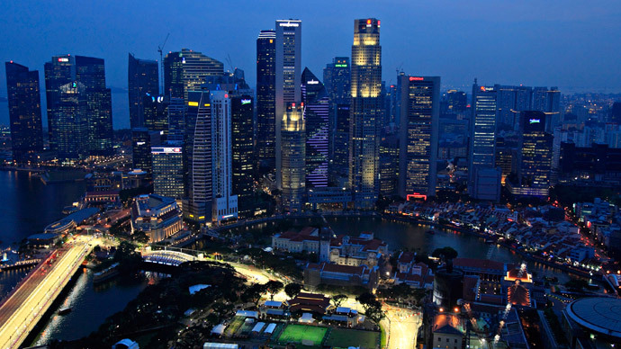 Singapore latest to join currency wars, hits 2010 low