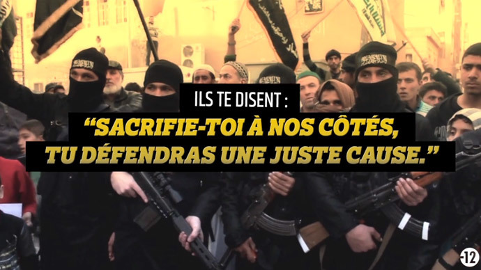 'You will discover hell on earth': French govt launches campaign against jihadists