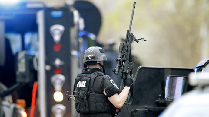 New Hampshire bill proposes ban on police receiving military-grade weapons
