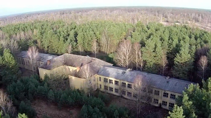 Drone footage reveals ghost Soviet military base hidden in German forest