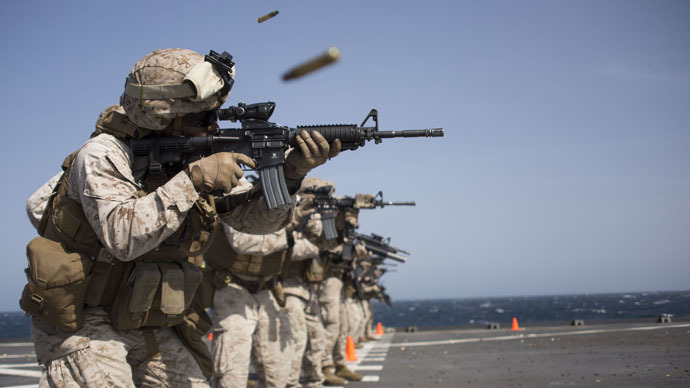 US Navy wants robots to train Marines