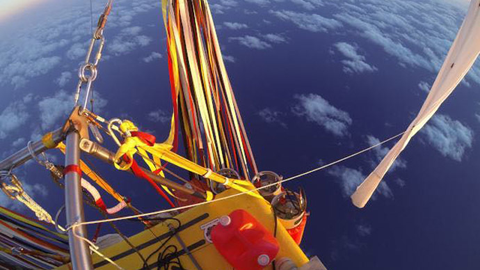 Across the Pacific in a week: US & Russian balloonists set world distance record