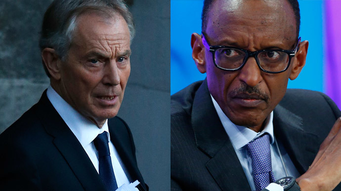 ​Blair's links to Rwandan President Kagame must remain secret – Foreign Office