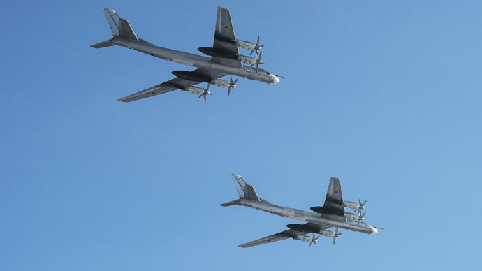 Foreign Office claims Russian bombers pose threat to civilian flights, no details given
