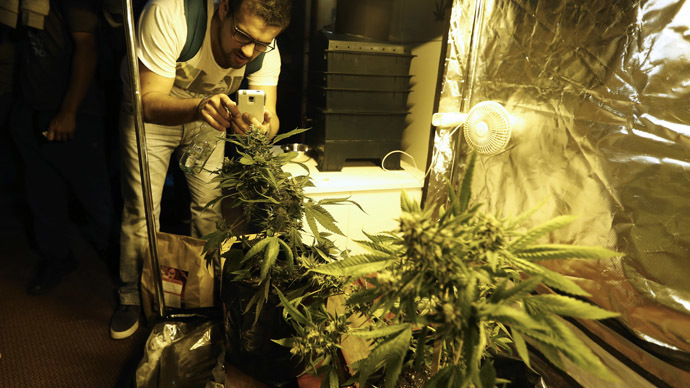 Met officer David Price was caught growing cannabis in a loft in Bristol. Reuters/Andres Stapff