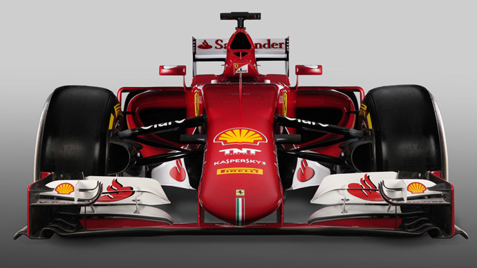 Ferrari unveils sleek new F1 'red machine,' hopes to regain title