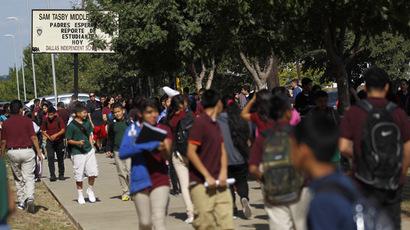 Washington teachers conduct rolling strike over lack of education funding